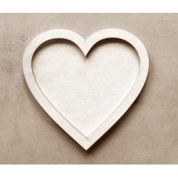 Chipboard -Shaker Cards /HEART