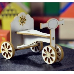 Chipboard - Baby Bike / 3D