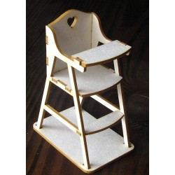 Chipboard -  Baby Chair /3D