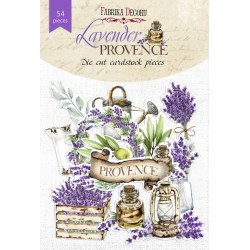 "DIE CUT Elements - ""Lavender Provence"" / 54pcs"