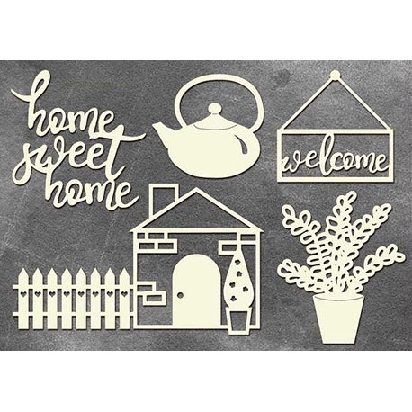 Chipboard - Home sweet home