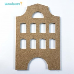 "MDF -Large Shape - TENEMENT HOUSE ""A"""