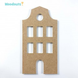 "MDF -Large Shape - TENEMENT HOUSE ""B"""
