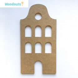 "MDF -Large Shape - TENEMENT HOUSE ""C"""