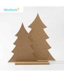 MDF -Large Shape - CHRISTMAS TREE 25 cm