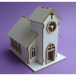 Chipboard - Wedding Chapel (3D)