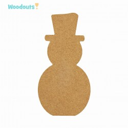MDF -Large Shape - SNOWMAN