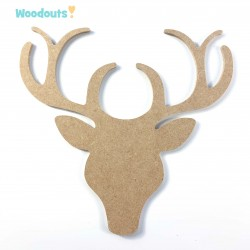 MDF -Large Shape - DEER HEAD