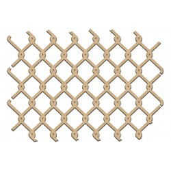 MDF -  Background / Mesh fence