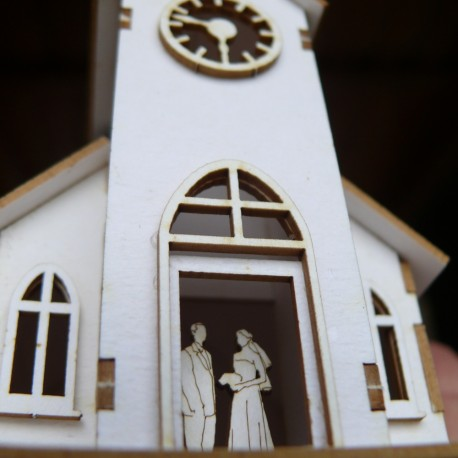 Chipboard - Wedding Chapel (3D)
