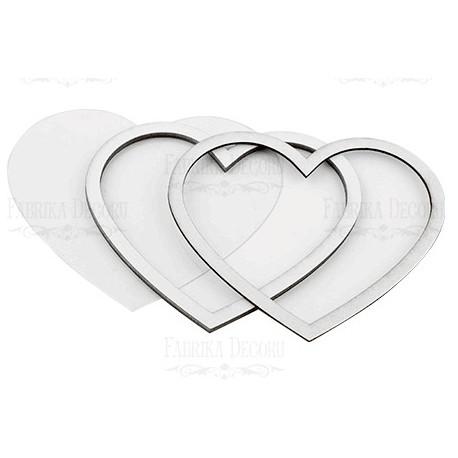 Chipboard - Shaker Cards / HEART