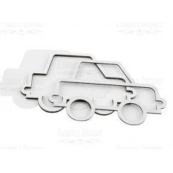 Chipboard - Shaker Cards /  VINTAGE CAR