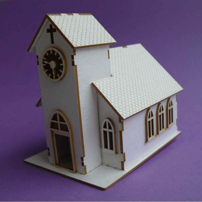 Chipboard Boxes For Crafting ~ Chipboard wedding chapel d craft shop