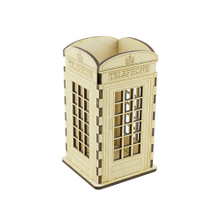 PLYWOOD - Telephone booth / 3D