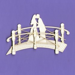 Chipboard - Wedding Bridge (3D)