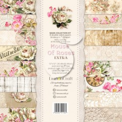 Scrapbooking Papers - HOUSE OF ROSES EXTRA (12x12)