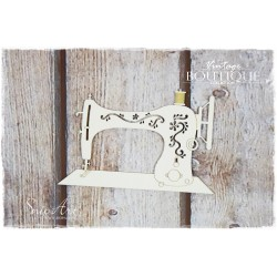 Chipboard - Vintage Boutique /Sewing machine