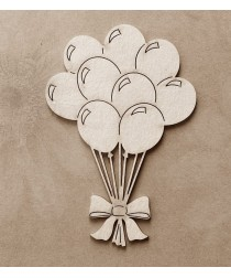Chipboard - Balloons