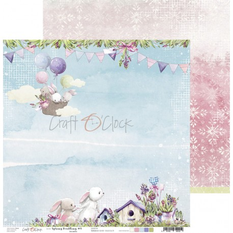 Scrapbooking Papers - Spring Bustling (12x12)