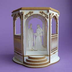 Chipboard - Wedding Gazebo (3D)