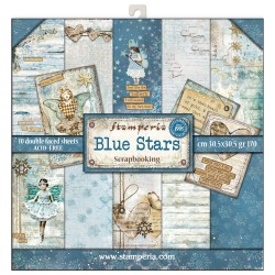 Scrapbooking Paper - BLUE LAND (12x12)