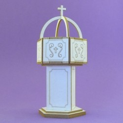 Chipboard - Baptismal Font (3D)