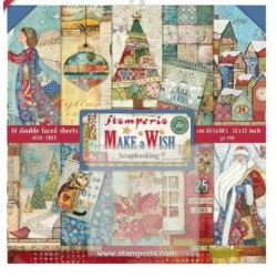 Scrapbooking Paper - Make Wish (12x12)