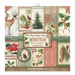Scrapbooking Paper - Winter Botanic (12x12)