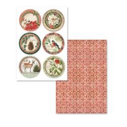 Scrapbooking Paper - Winter Botanic /cards