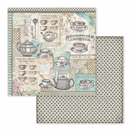 Scrapbooking Paper- ALICE  (12x12)