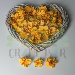 Fabric Gillyflower -YELLOW