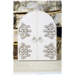 Chipboard - layered doors -/half-round