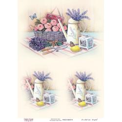Decoupage image sheet A4 / 374