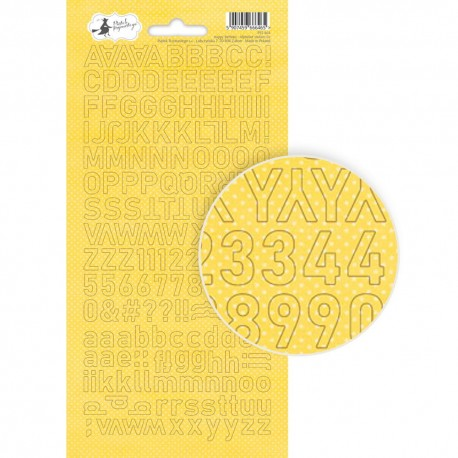 Alphabet Stickers / HAPPY BIRTHDAY 02