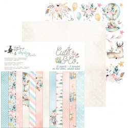 Scrapbooking Paper- Cute & Co.(12x12)