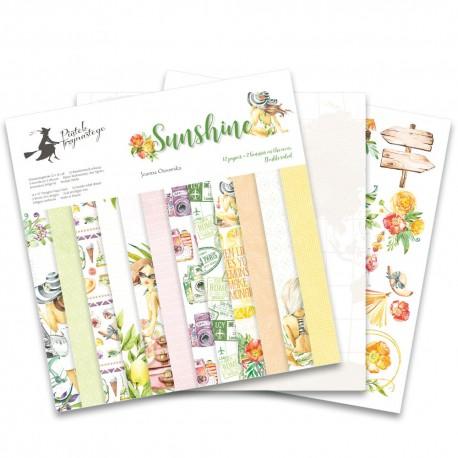 Scrapbooking Paper- Sunshine (12x12)