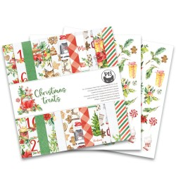 Scrapbooking Paper- Christmas Treats (12x12)