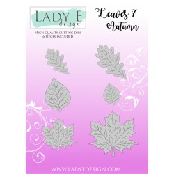 Lady E Design  Dies Flower / Leaves 7