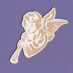 "Chipboard - Engraved Angel ""B"""