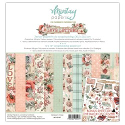 Scrapbooking Papers - LOVE LETTERS
