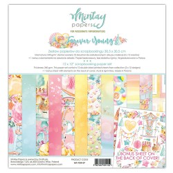 Scrapbooking Papers - FOREVER YOUNG - Pad 12 x 12