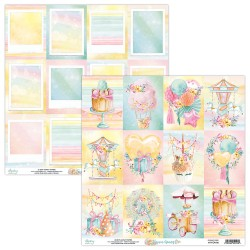 Scrapbooking Paper- 12x12 Sheet -  FOREVER YOUNG 06