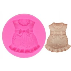 Silicone Mold - Baby Girl Clothes