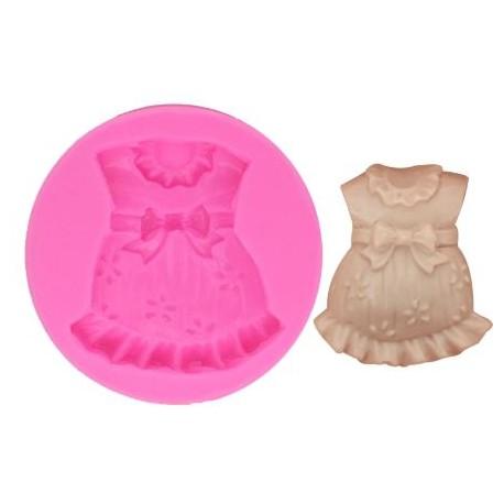 Silicone Mold - Baby Girl Clothes