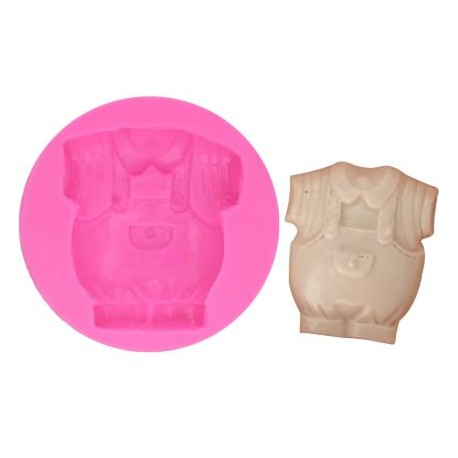 Silicone Mold - Baby Boy Clothes