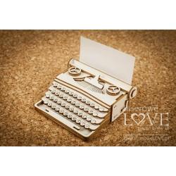 Chipboard - Typewriter 3D