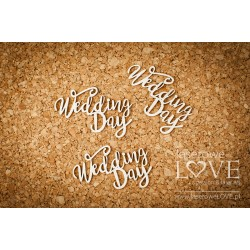 Chipboard - Simply Wedding Day