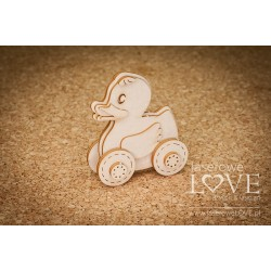 Chipboard - Baby Toy - Duck /3D