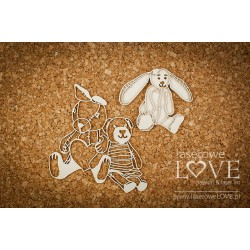 Chipboard - Baby Toys / 3pcs