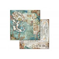 STAMPERIA Scrapbooking Paper - SEA WORLD (12x12)